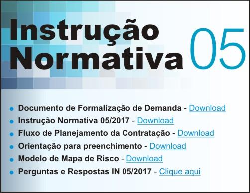 Instrução Normativa 05